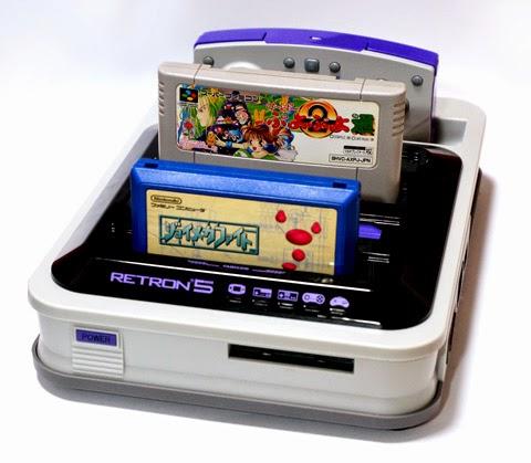 更新お待たせしております、自室整理と複合ゲーム機 レトロン5