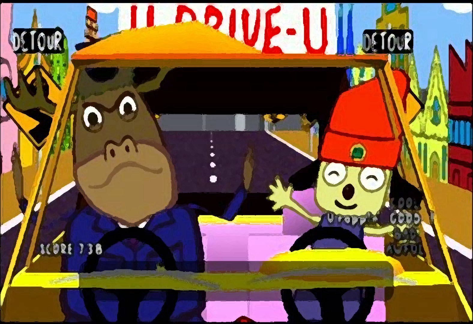 soundcloudに自作アレンジ PaRappa the Rapper Instructor Mooselini's -RHYTHM SECTION BEAT 追加
